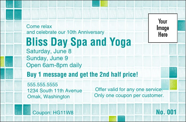 Bliss Spa Coupon 1