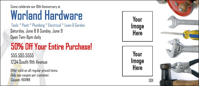 Hardware Coupon 2