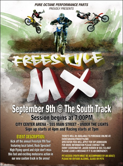 Freestyle MX Flyer