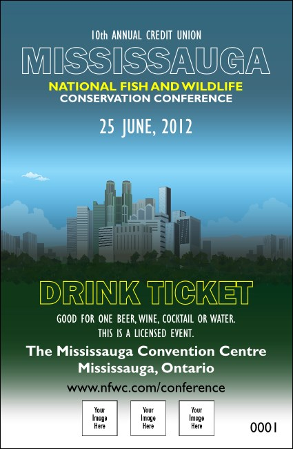 Mississauga Drink Ticket