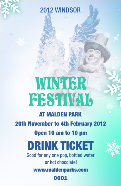 Winter Festival Drink Ticket